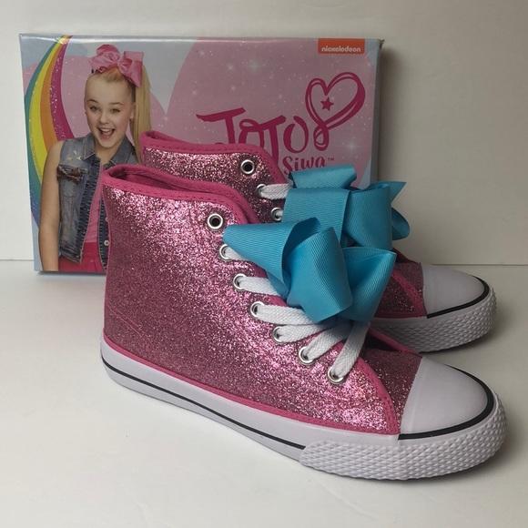 Jojo Siwa Shoes Legacee High Pink Rose